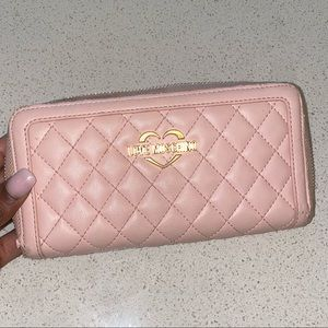 LOVE MOSCHINO WALLET BABY PINK